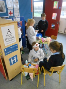 Role-play 'At the Opticians'