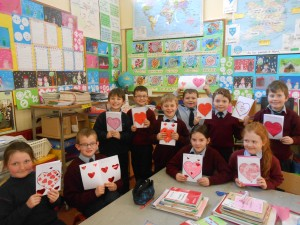 Happy St. Valentine's Day from 2nd and 3rd Class....