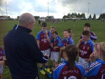 The all-important half time team talk!!