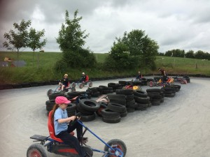 Go-Karting at Nore Valley