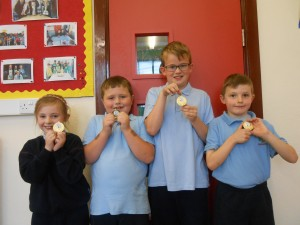 2nd/3rd class Winners..Team France!