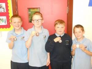 4th/5th Class runners up-Team Portugal!