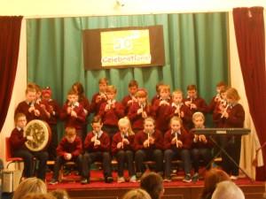5th and 6th Class and the 'Kilberry Céilí Band'!!!