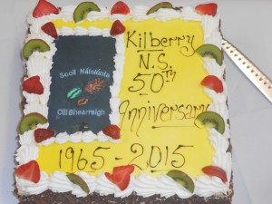 Happy Anniversary Kilberry N.S. Here's to another 50 years!