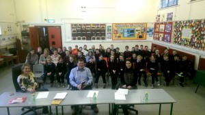 Dragon's Den comes to Kilberry N.S. in the form of the Junior Entrepreneur Programme!