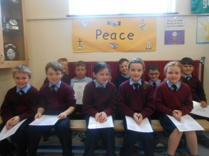 A special mention to the 3rd class choir who performed beautifully at the mass.