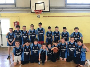 Kilberry N.S. Boys Basketball team who competed on Wednesday in the Blitz.