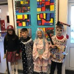 Fabulous costumes from 4th Class